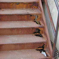 Rust damage can cause major problems and can result in accidents!