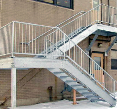 Safe, new, and amazing looking stairs installed by GLSS!